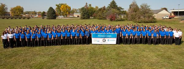 FEMA Corps 2012 Inaugural class, Vinton Iowa. Corporation for National and Community Service Photo.