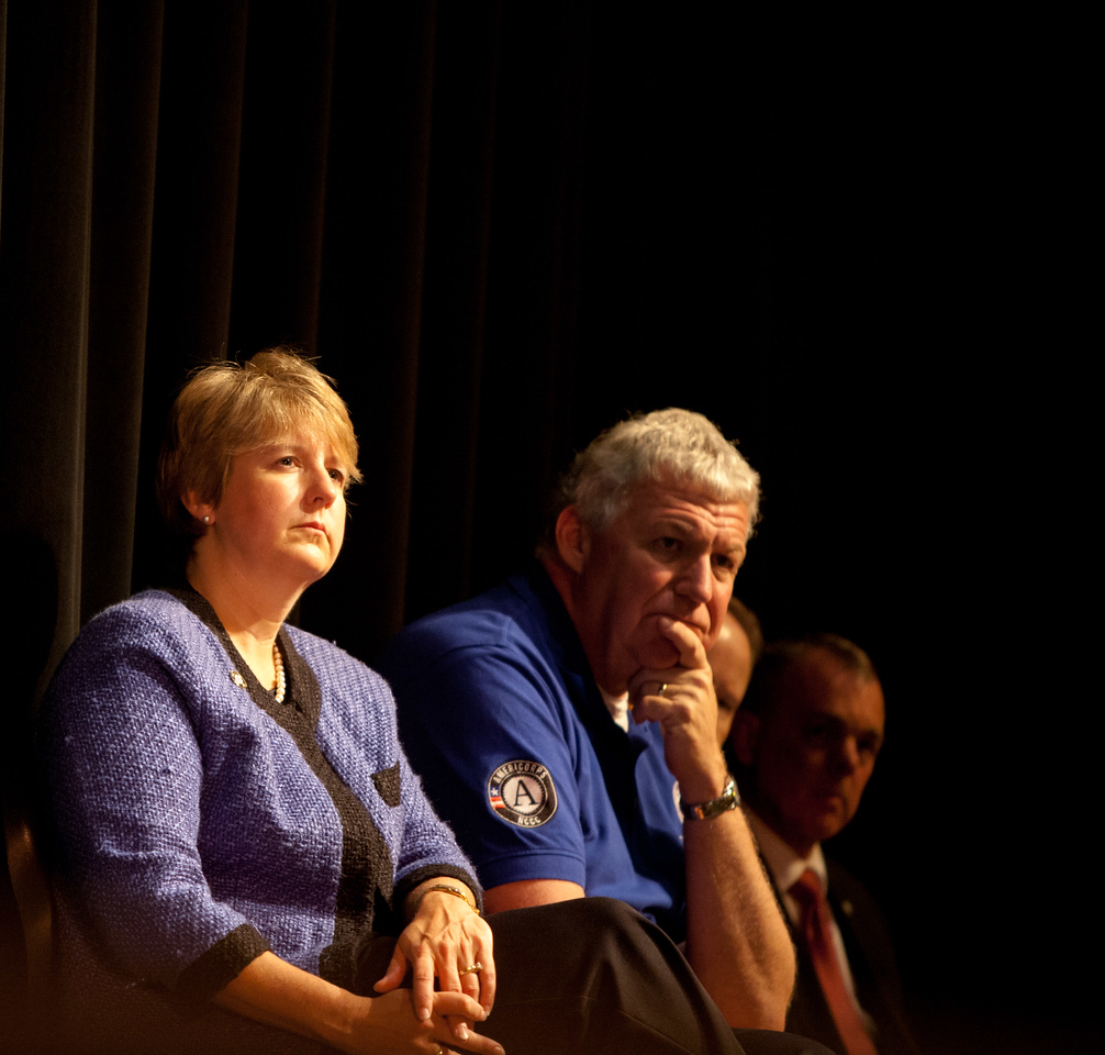 CNCS CEO, Wendy Spencer, FEMA Deputy Administrator, Rich Serino. Corporation for National and Community Service Photo.
