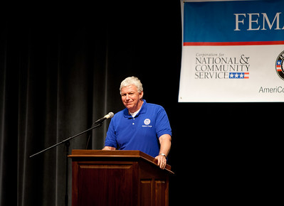 FEMA Deputy Administrator, Rich Serino. Corporation for National and Community Service Photo.