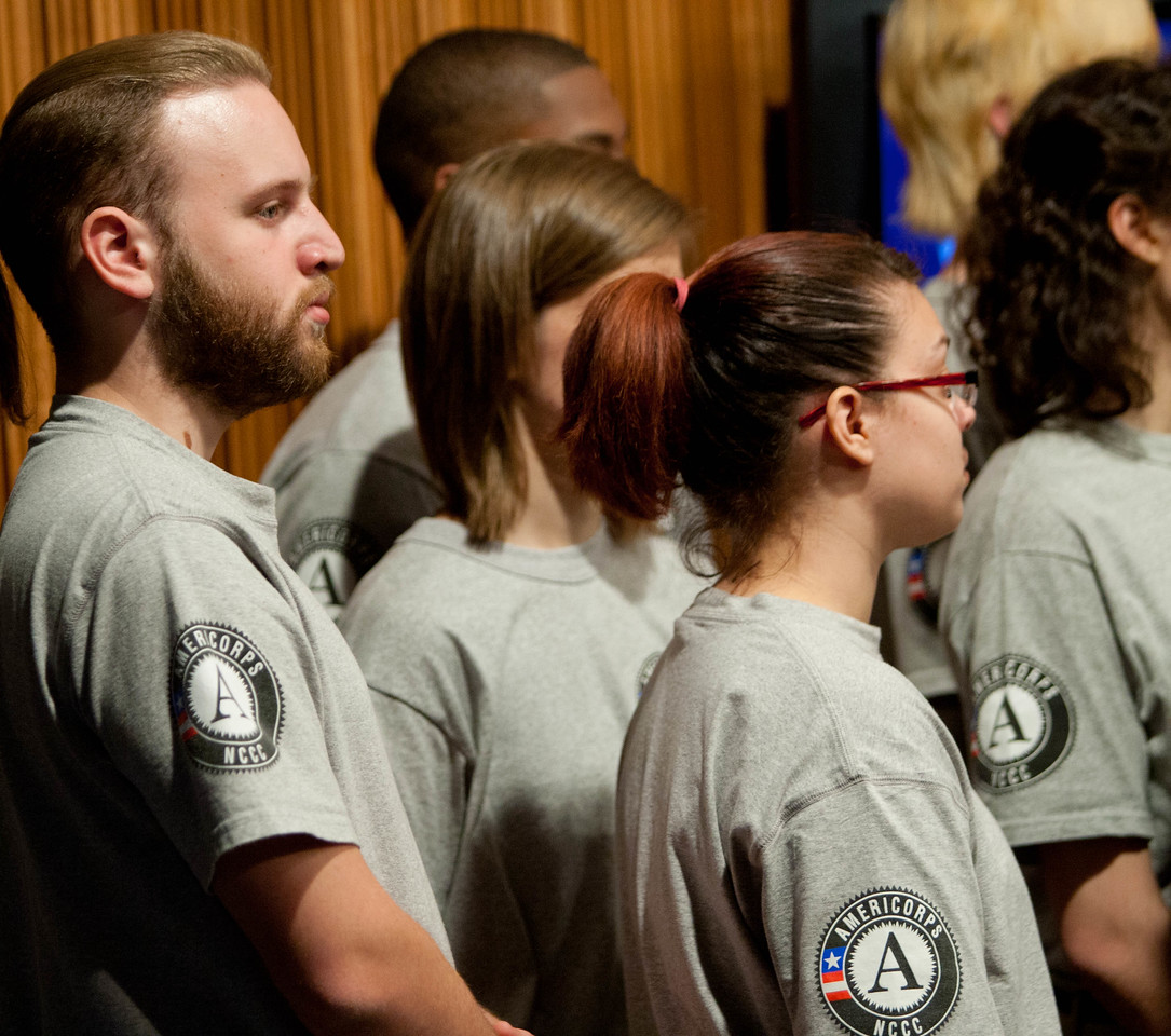 AmeriCorps NCCC members  Corporation for National and Community Service Photo.