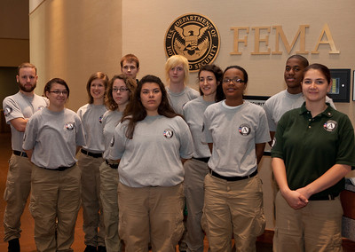 AmeriCorps NCCC members.   Corporation for National and Community Service Photo.