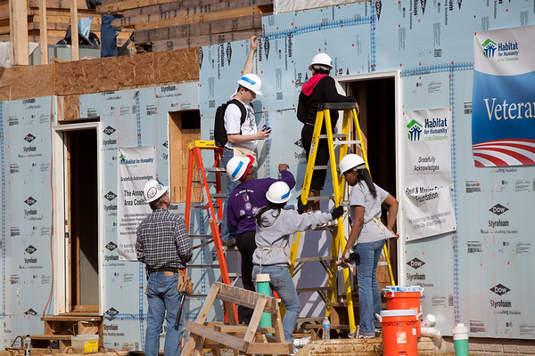 Habitat for Humanity Build March 2011