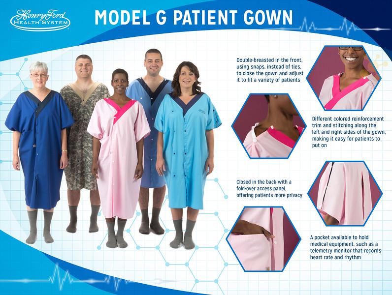 Model G Patient Gown