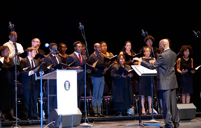 Musical Prelude, Howard University at the Opening Plenary. Corporation for National and Community Service Photo.