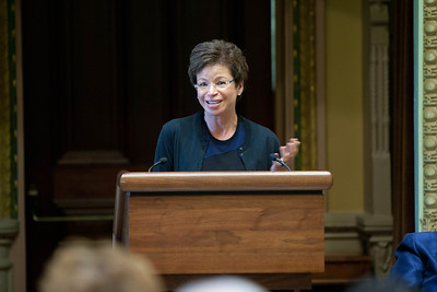 Valerie Jarrett, Senior Advisor to The President of the United States. Corporation for National and Community Service Photo.