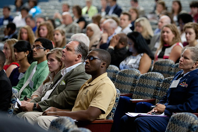 Audience at Howard University Opening Plenary. Corporation for National and Community Service Photo.