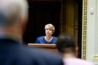 Corporation for National and Community Service, CEO, Wendy Spencer. Corporation for National and Community Service Photo.