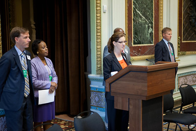 The White House - President's Meeting (speaking) Mara Vanderslice Kelly, Deputy Director, White House Office of Faith-Based and Neighborhood Partnerships. Corporation for National and Community Service Photo.