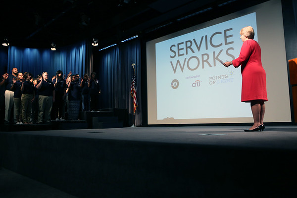 Service Works Launch - New York City July 31 2014