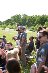 AmeriCorps members. Veterans Build on the Mall 2013. Corporation for National and Community Service Photo.