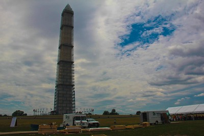 Washington Monument, Veterans Build on the Mall 2013. Corporation for National and Community Service Photo.