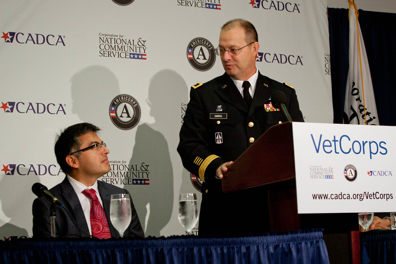 VetCorps Launch with CADCA and The National Guard. Corporation for National and Community Service Photo.
