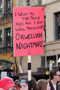 I went to the polls and all I got was this lousy Orwellian nightmare