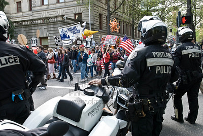 May Day 2008: Parade Escort