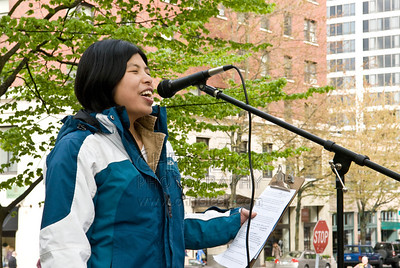 May Day 2008: MC Shizuko, Coordinator of the Portland Central America Solidarity Committee  http://pcasc.net/