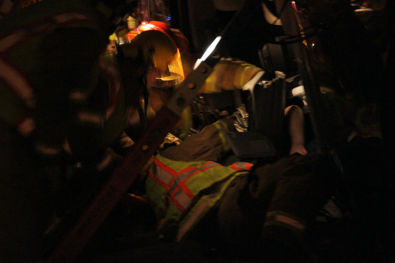 Barclay/Hwy 20 Rear End Collision, Sisters Feb 2008