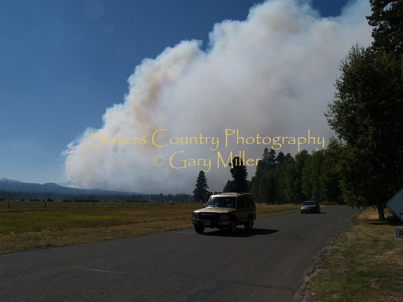 Black Butte Ranch - GW Fire 2007 GW Fire - Sisters, OR