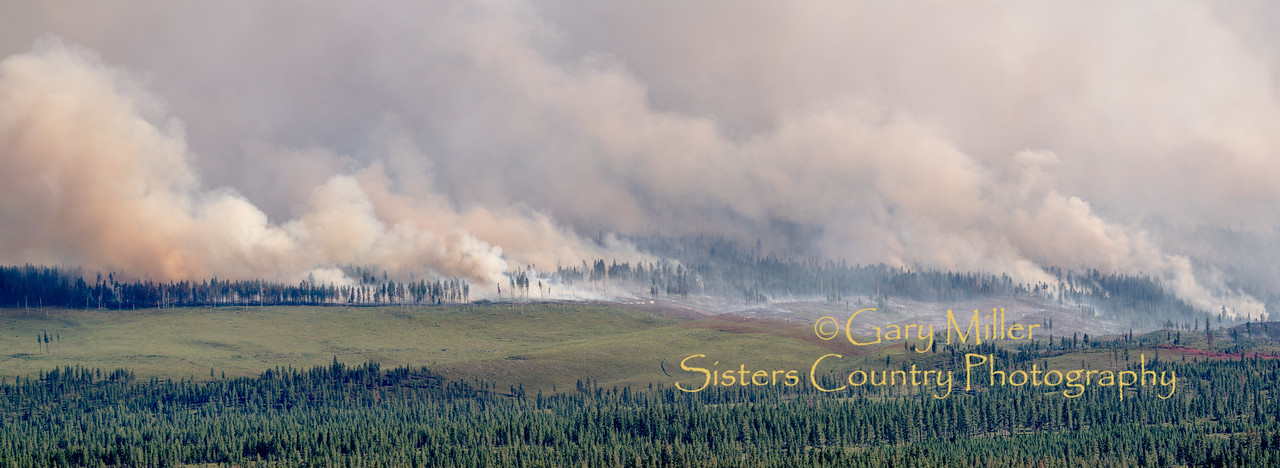 Scenes from the Milli Fire - Sisters, OR