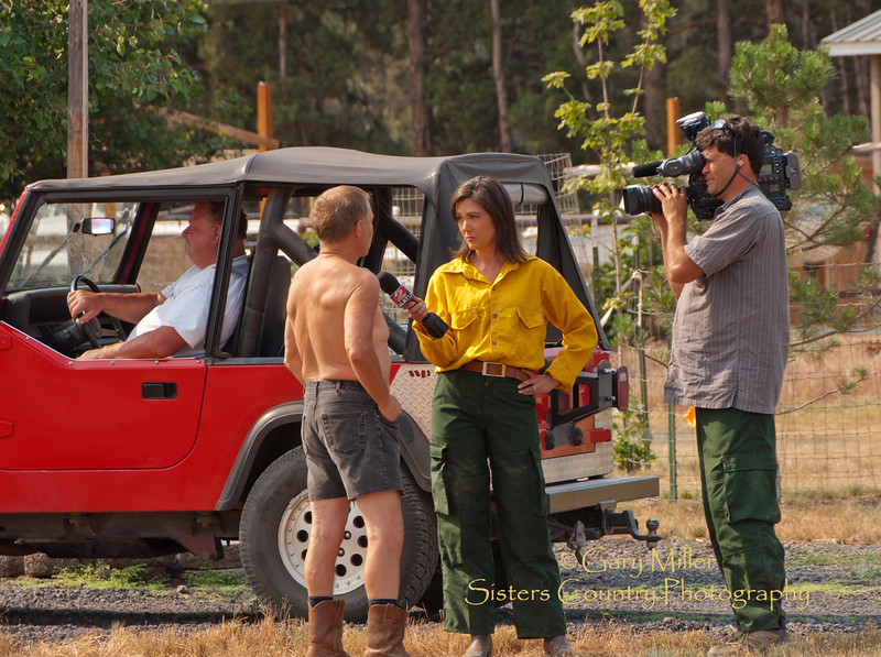 Gary Miller - Sisters Country Photography Rooster Rock Fire - Sisters, OR August 3 2010 -