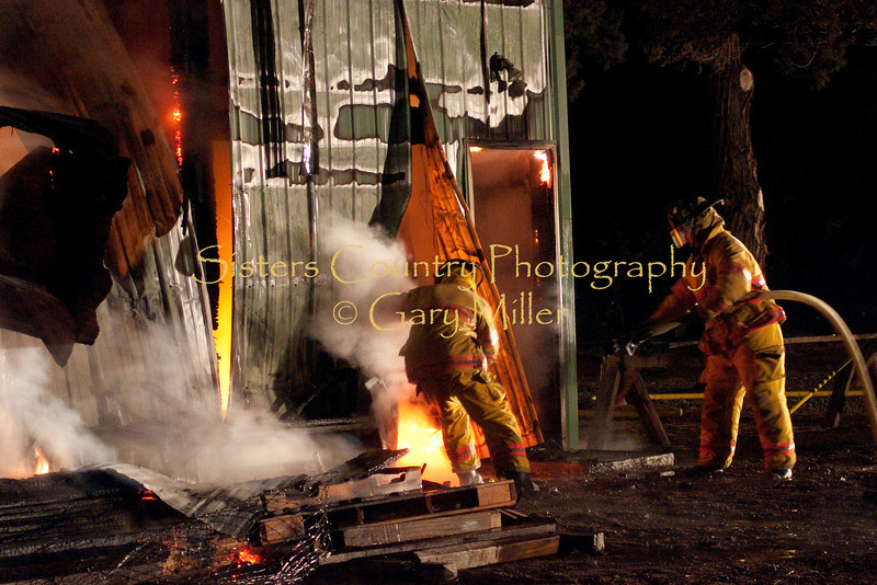 Cavanaugh Harmony House Barn Fire
