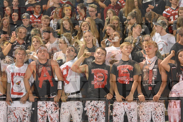 Newton Homecoming Fans Sept. 15, 2017