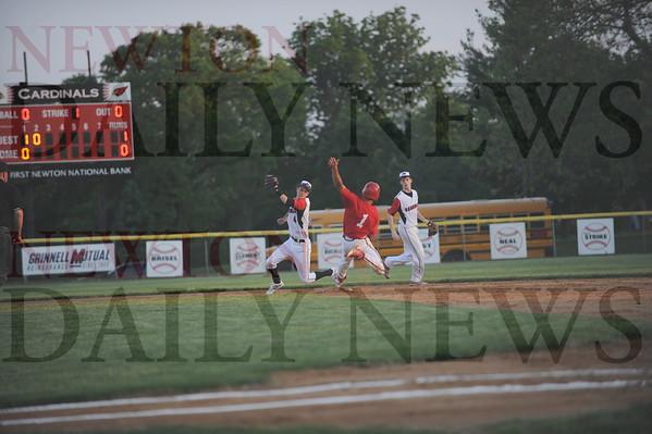 Newton baseball vs. Boone 5-27-2015