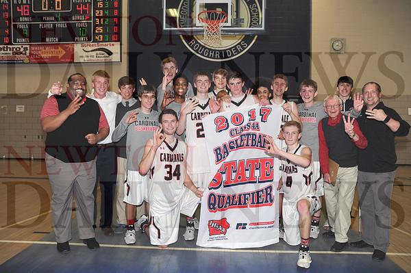 Newton boys 4A substate, state basketball 1 2017