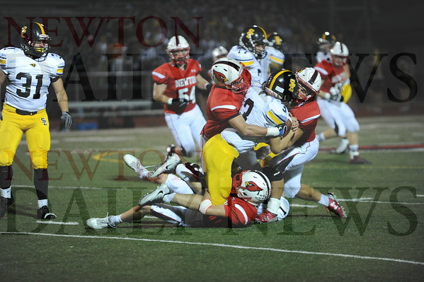 Newton football vs. Southeast Polk 10-7-2016