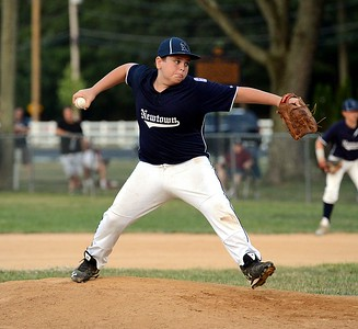 Andrew Jones pitched four strong innings for Newtown against Warwick.