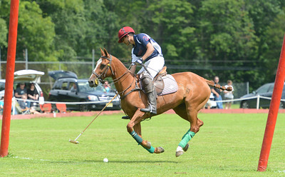 Talha Chaudhry scores for the Brooke Hollow Farm team.