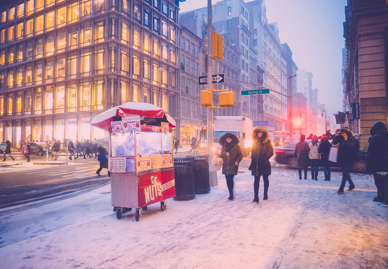 Soho In snow