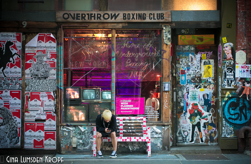 Overthrow Boxing Club- Manhattan summer 2017