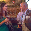 Panelists and patrons network at Olde Mecklenburg Brewery before the NextGEN panel discussion begins.