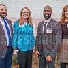 (Left to Right) Scott Lieberman, Management Advisor at TIAA (Moderator), Joanna Gamon, Talent Acquisition at Compass Group, Tyrone Davis, Innovation Management at Duke Energy, and Jenn Grabenstetter, ED of Global Communications at Sealed Air.