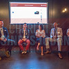 Panelists participating in NextGen event at Olde Mecklenburg Brewery.