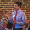 Attendees of Charlotte Business Journal's NextGen event ask panelists questions.