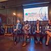 Tim Flanagan, President of MassMutual Carolinas (left), speaks before Charlotte Business Journal's NextGen event.