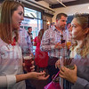 Attendees of Charlotte Business Journal's NextGen event, held at Olde Mecklenburg Brewery, mingle and network before and after the event.