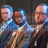 Jabbar Jamison, Financial Services Professional at New York Life, panelist at Charlotte Business Journal's NextGen event, held at Olde Mecklenburg Brewery.