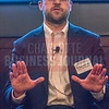 Bobby Maloney, Sr. Mortgage Consultant at Allen Tate Mortgage, panelist at Charlotte Business Journal's NextGen event, held at Olde Mecklenburg Brewery.