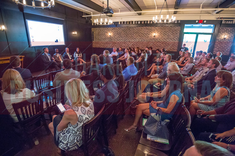 Charlotte Business Journal's NextGen event, held at Olde Mecklenburg Brewery.