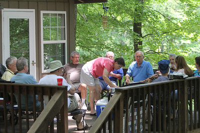 lunch on the deck - on a beautiful day - with wonderful friends!