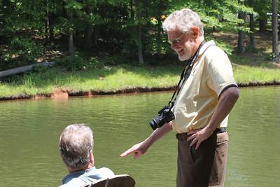 John explains something important to Dave