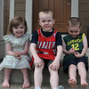 Cousins Lucy, Mason, and Dylan