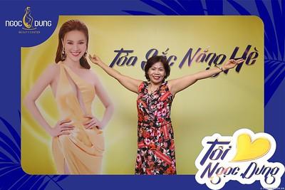 Ngoc Dung Beauty   Quang Ninh Branch 's 1st Anniversary instant print photo booth   Kỷ niệm 1 năm thành lập Thẫm mỹ viện Ngọc Dung tại Hạ Long   Photobooth Ha Long