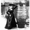 Anna Edson Taylor first person to go over the falls in a barrel 1901