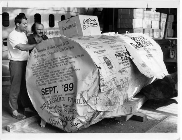 Niagara Falls, Stunters, Peter DeBernardi - 12/9/1989