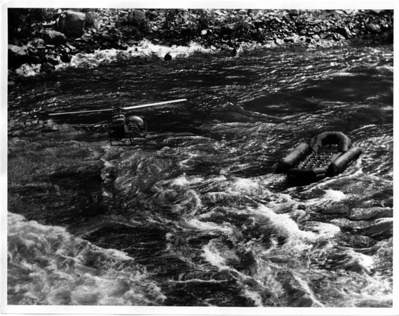Niagara River - Raft Ride<br /> Raft Ride at Niagara River.<br /> Photo - By Dan Shubsda - 9/3/1975.