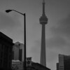CN Tower in the Mist