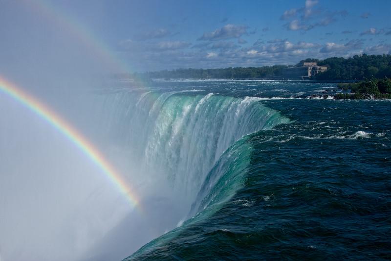 Horseshoe Falls Rainbow